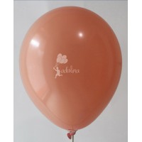 Peach Crystal Plain Balloon
