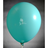 Azure Crystal Plain Balloon