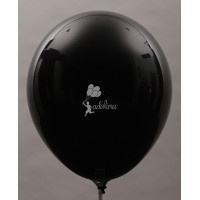 Black Crystal Plain Balloon