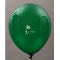 Emerald Green Crystal Plain Balloon