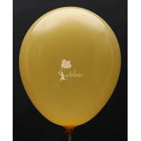 Golden Yellow Crystal Plain Balloon