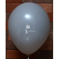 Gray Crystal Plain Balloon