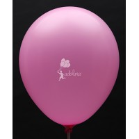 Hot Pink Crystal Plain Balloon