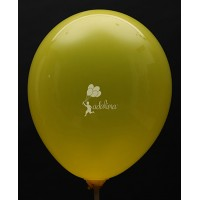 Lemon Yellow Crystal Plain Balloon