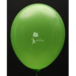 Lime Green Crystal Plain Balloon