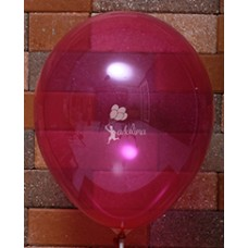 Magenta Crystal Plain Balloon
