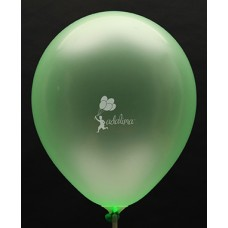 Neon Green Crystal Plain Balloon