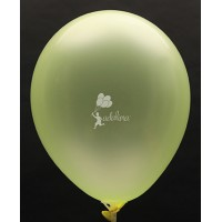 Neon Yellow Crystal Plain Balloon