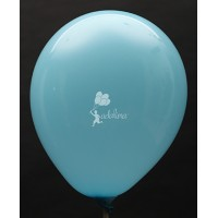 Pastel Blue Crystal Plain Balloon