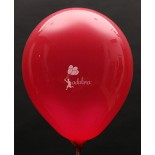 Red AA Crystal Plain Balloon