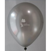 Silver AA Metallic Plain Balloon
