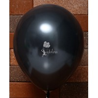 Black Metallic Plain Balloon