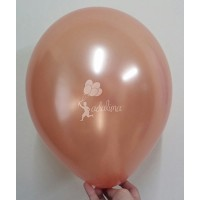 Copper Metallic Plain Balloon