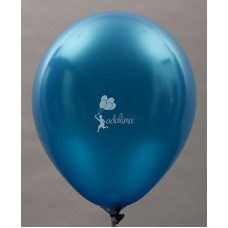 Dark Blue Metallic Plain Balloon