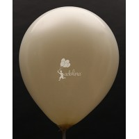 Ivory Metallic Plain Balloon