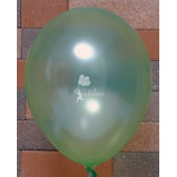 light Green Metallic Plain Balloon