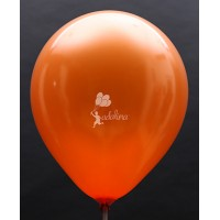 Orange Metallic Plain Balloon