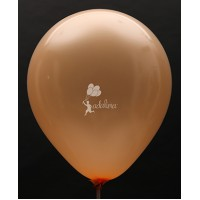 Peach Metallic Plain Balloon