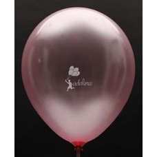Pink Metallic Plain Balloon