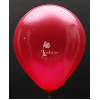Red Metallic Plain Balloon