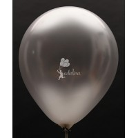 Silver Metallic Plain Balloon