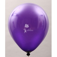 Purple Metallic Plain Balloon