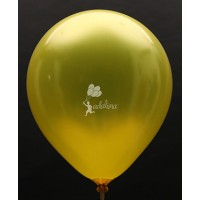 Yellow Metallic Plain Balloon