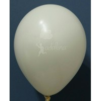 Cream Metallic Plain Balloon