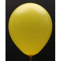 Lemon Yellow Standard Plain Balloon