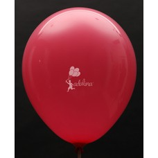Red Standard Plain Balloon