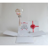 Personalized Surprise Box Single Personalized Bubble