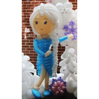Snow Princess Balloon Character