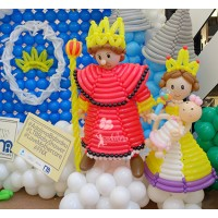 King & Queen Balloon Character